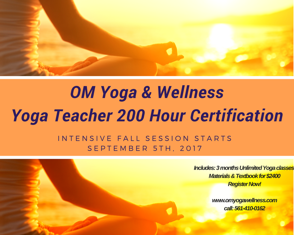 Yoga Teacher 200 Hour Certification